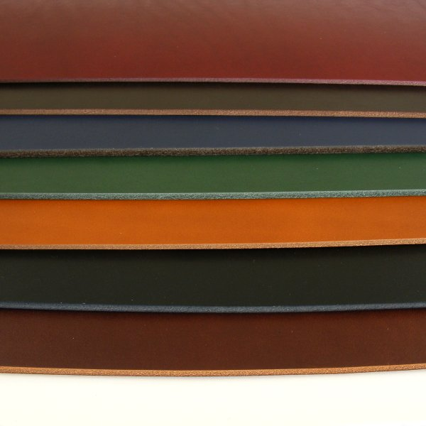 2-2.5mm Vegetable Tanned Coloured Leathers
