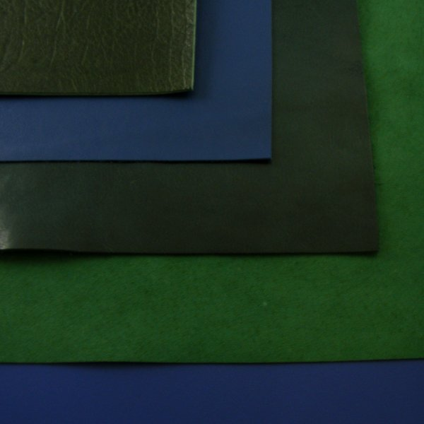 Green & Blue Leathers 30x60cm