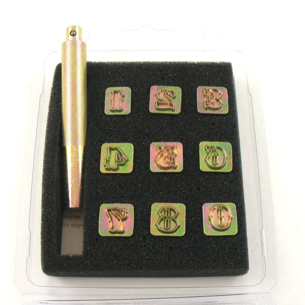 Number Embossing Stamps