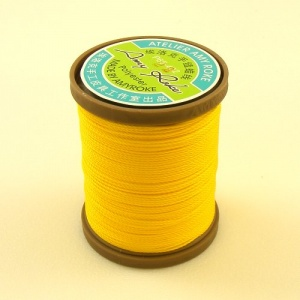 0.45mm Lemon Yellow Polyester Sewing Thread