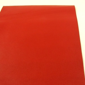 0.6mm Bright Red Cow Nappa 30cm x 60cm