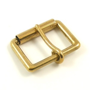 32mm 1 1/4''  Brass Roller Buckle