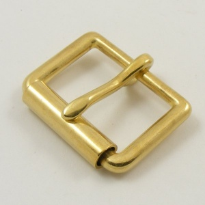 25mm 1''  Cast Brass Single Roller Buckle