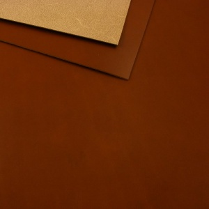 1.8-2mm Vegetable Tanned Cowhide Almond Dark Tan A4
