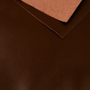 1.2 - 1.4mm Chestnut Brown Calf Leather 30 x 60cm