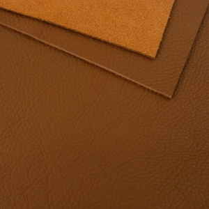 1.8-2mm Soft Crease Textured Cowhide Tan / Light Brown A4