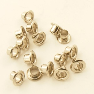 4mm Nickel Plated Eyelets for Leather & Craft