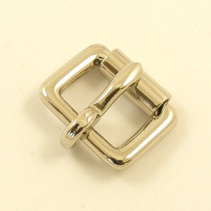 12mm 1/2'' Nickel Plated Single Roller Buckle