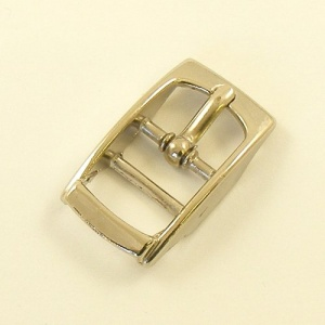 TO CLEAR 12mm Strap Buckle Nickel Plated
