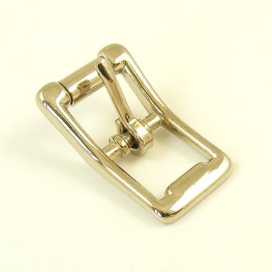 12mm Nickel Plated Cast Whole Roller Buckle