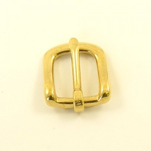 16mm Cast Brass West End Buckle