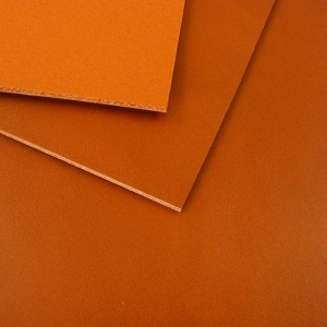 1.5mm Mid Tan Vegetable Tanned Leather A4 Size