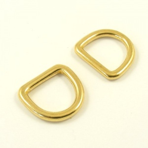 20mm 3/4'' Cast Brass Deep D Ring