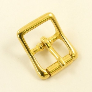 25mm Cast Brass Whole Roller Buckle