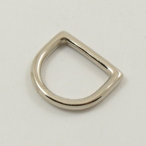 20mm 3/4'' Nickel Silver Deep D Ring
