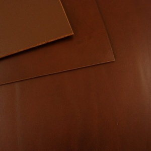 SECONDS 2.8-3mm Chestnut Vegetable Tanned Cowhide A4