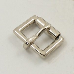 19mm 3/4''  Nickel Plated Single Roller Buckle