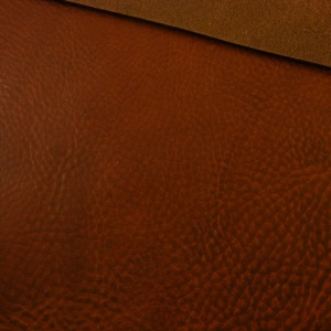 3.6-4mm Chestnut Crease Textured Heavy Vegetable Tanned Cowhide A4
