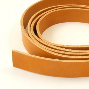 2 - 2.5mm Light Tan Lamport Leather Strip