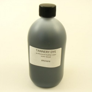 BROWN Tannery Dye 500ml