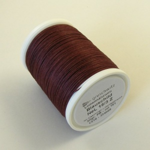 Burgundy Linen Sewing Thread Gruschwitz Weinrot 161