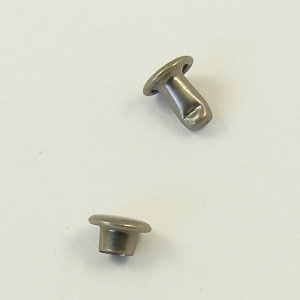 SALE 6mm Double Cap Antiqued Nickel Rivets - 30