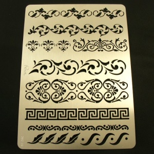 Leathercraft Stencil Border / Bracelet Patterns
