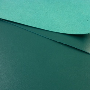 1.2 - 1.4mm Teal Blue Calf Leather A4