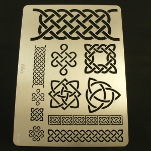 Leathercraft Stencil Celtic Designs