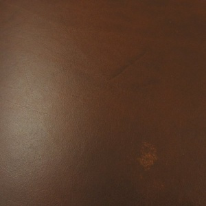 2.8-3mm SECONDS Chestnut Brown Vegetable Tanned Leather 30 x 60cm Size