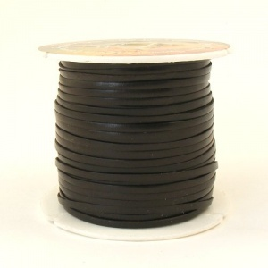 2.3mm Very Dark Brown Tandy Superior Calf Lace 46 Metre Reel