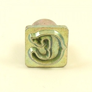 12mm Decorative Letter C Embossing Stamp