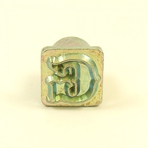 12mm Decorative Letter G Embossing Stamp