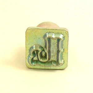 12mm Decorative Letter L Embossing Stamp