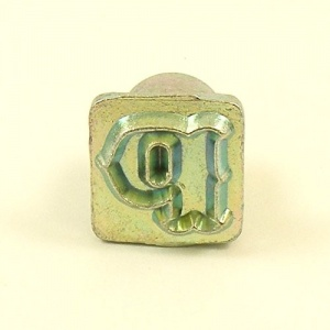 12mm Decorative Letter P Embossing Stamp