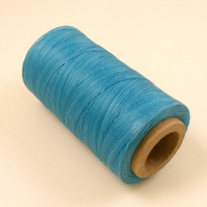 0.6mm Waxed & Braided Thread Turquoise 300M