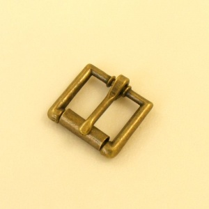 16mm 5/8'' Antique Finish Single Roller Buckle