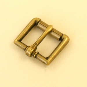 19mm 3/4'' Antique Finish Single Roller Buckle