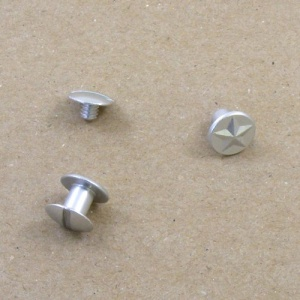 HALF PRICE Star Design 6mm Aluminium Joining Screws Pack of 10