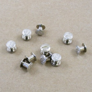 Decorative 6mm Joining Screws -Nickel Plated