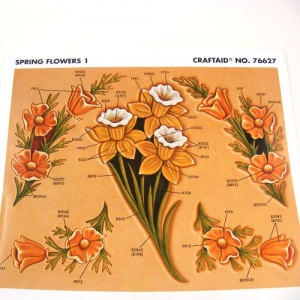 Craftaid Spring Flowers 1 - 76627
