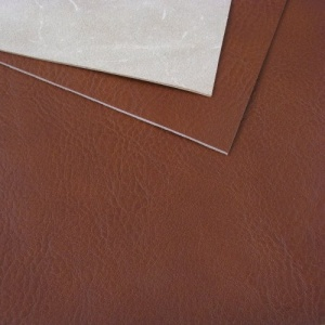 1.3-1.5mm Chestnut Brown Soft Feel Vegetable Tanned Leather A4