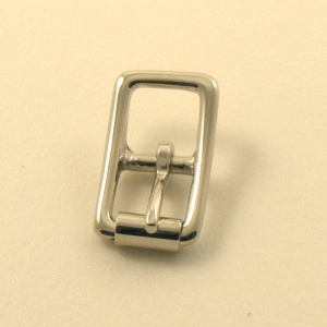 12mm HEAVY Nickel Plated Whole Roller Buckle