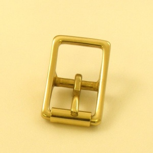 19mm HEAVY Cast Brass Whole Roller Buckle