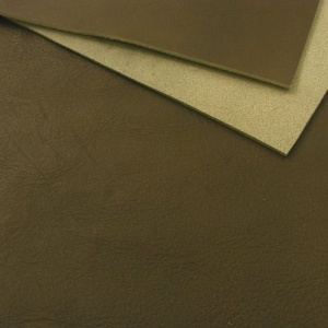 2-2.5mm TO CLEAR Grey Soft Feel Vegetable Tanned Leather A4