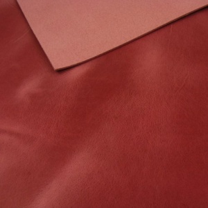2mm Cerise Pink Rustic Style Leather A4