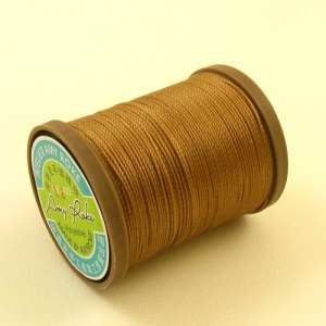 0.65mm Amy Roke Polyester Thread Camel 12