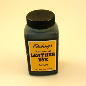 Fiebings Water Based Leather Dye Green