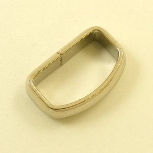 Curved Belt Loop Nickel Plated 25mm