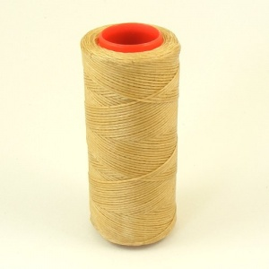 Heavy 1mm Synthetic Thread Honey Beige